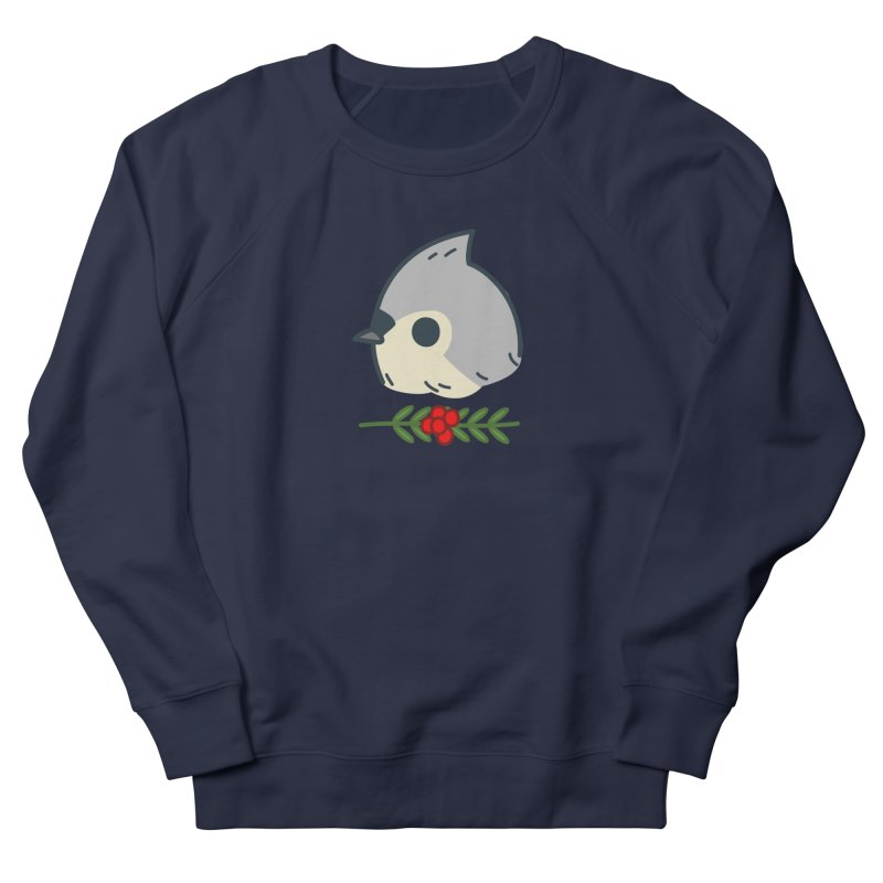 tufted titmouse Women's Sweatshirt by Casandra Ng