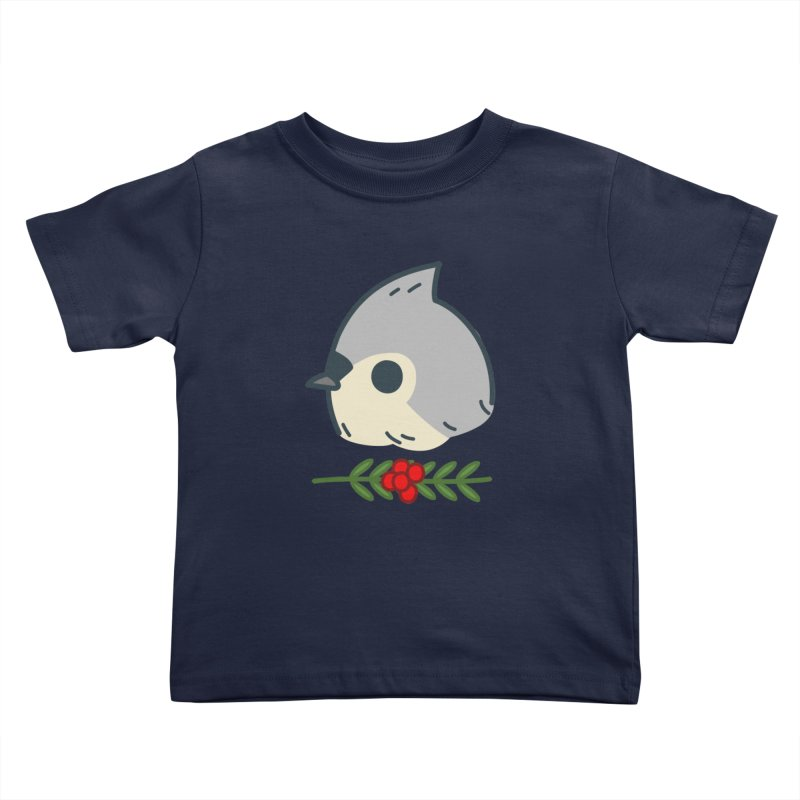 tufted titmouse Kids Toddler T-Shirt by Casandra Ng