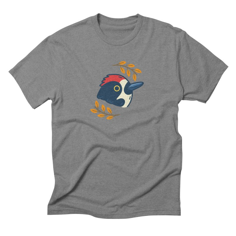 acorn woodpecker Men's Triblend T-Shirt by Casandra Ng
