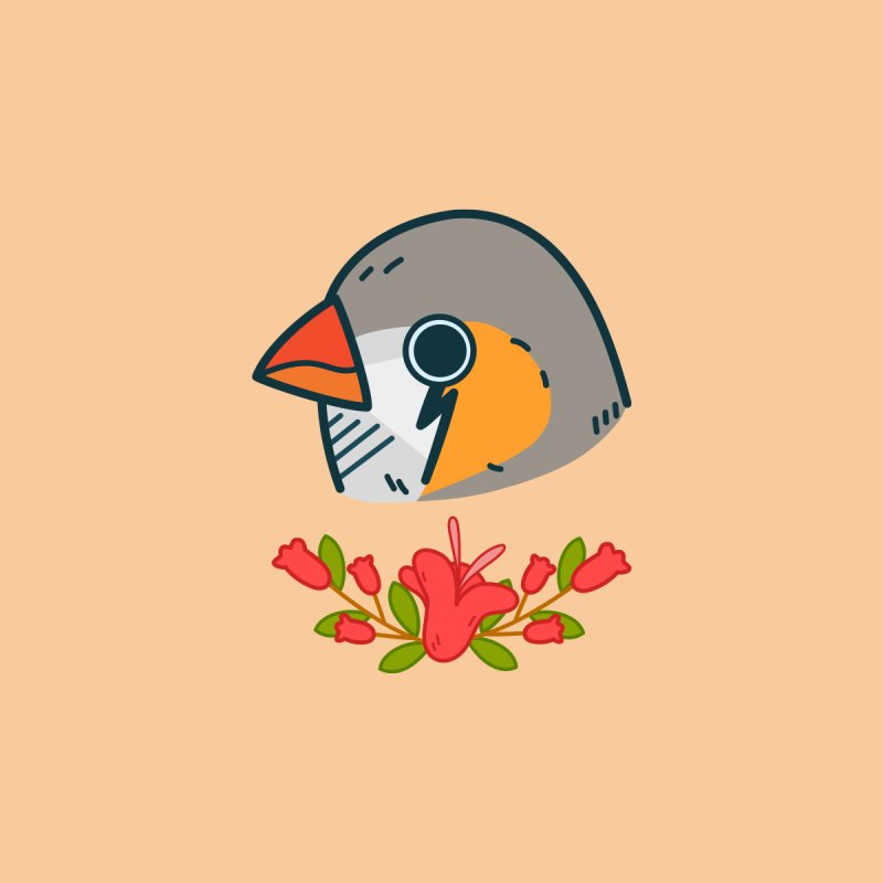 zebra finch by Casandra Ng