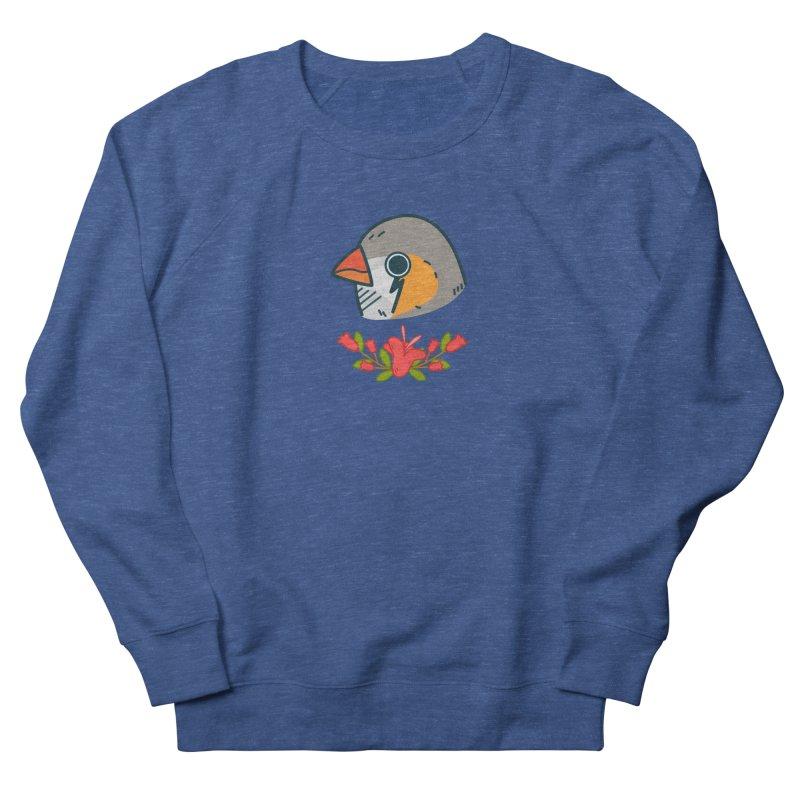 zebra finch Women's Sweatshirt by Casandra Ng