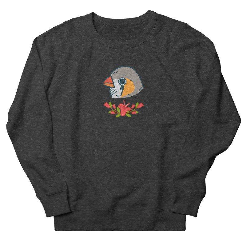 zebra finch Men's Sweatshirt by Casandra Ng
