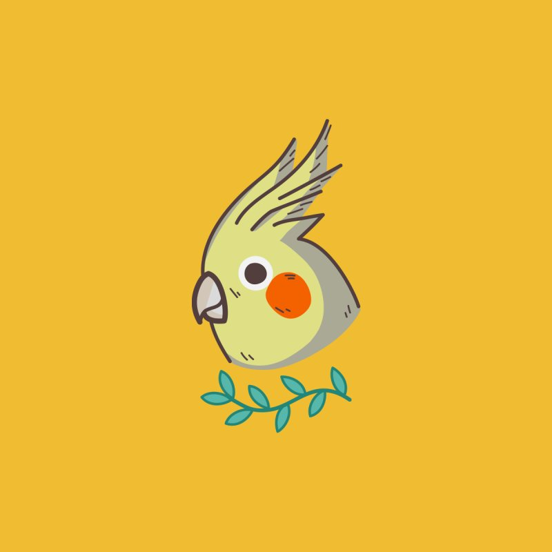 cockatiel by Casandra Ng