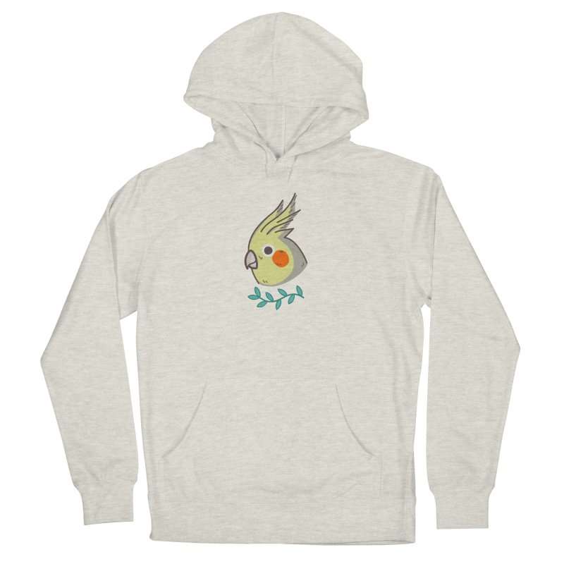 cockatiel Women's French Terry Pullover Hoody by Casandra Ng