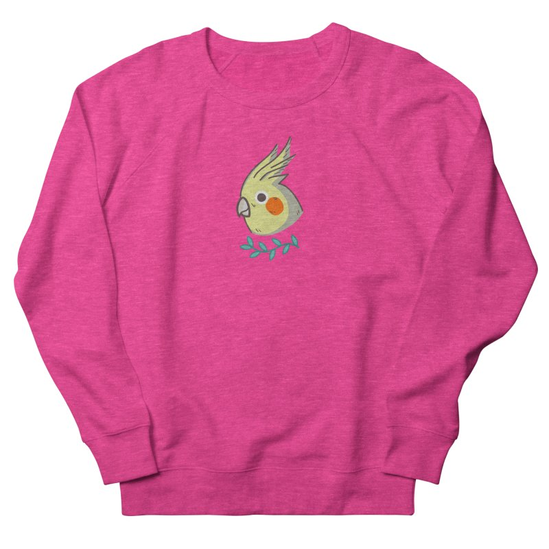 cockatiel Women's Sweatshirt by Casandra Ng