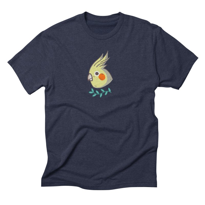 cockatiel Men's Triblend T-Shirt by Casandra Ng