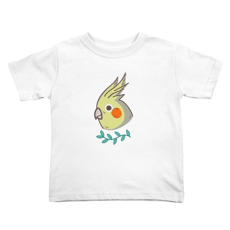 cockatiel Kids Toddler T-Shirt by Casandra Ng