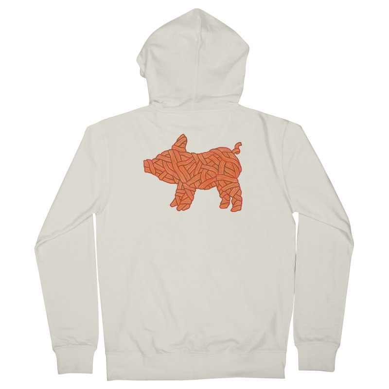 lil' bacon Women's Zip-Up Hoody by Casandra Ng