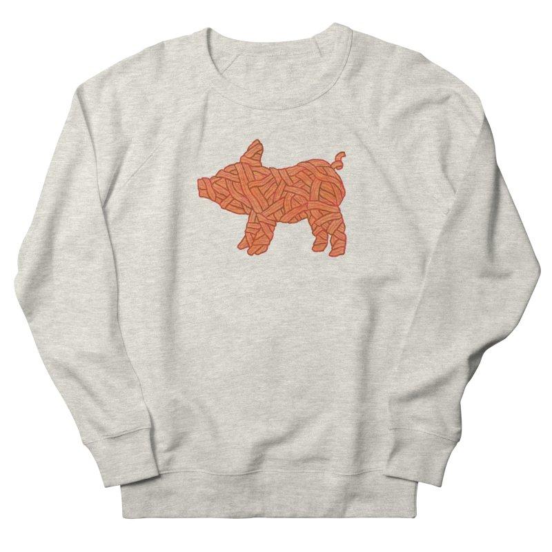 lil' bacon Women's Sweatshirt by Casandra Ng