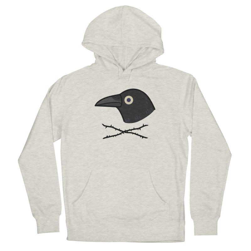 crow Women's Pullover Hoody by Casandra Ng