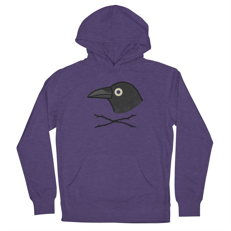 crow Men's Pullover Hoody by Casandra Ng