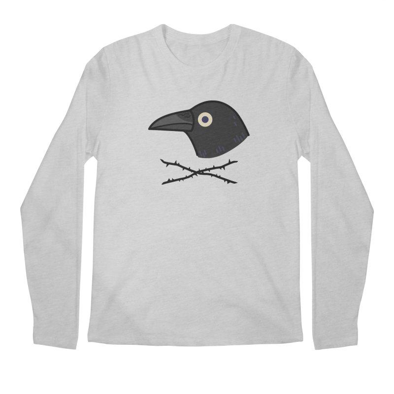 crow Men's Regular Longsleeve T-Shirt by Casandra Ng