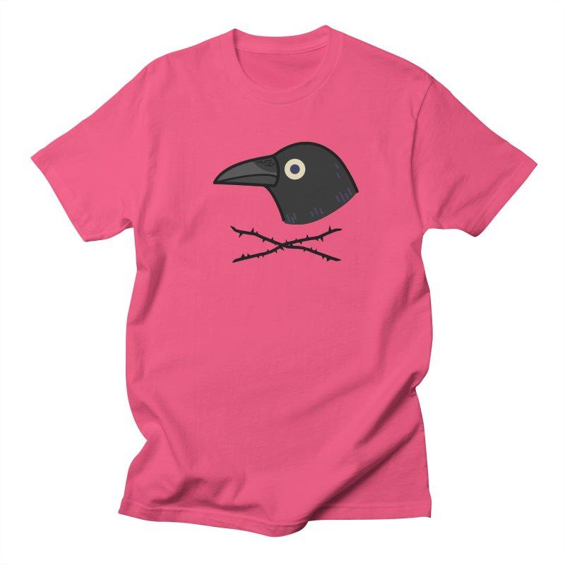 crow Men's T-shirt by Casandra Ng