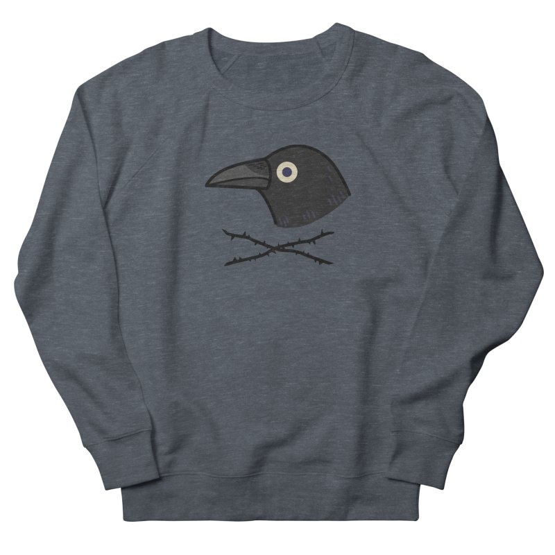 crow Women's Sweatshirt by Casandra Ng