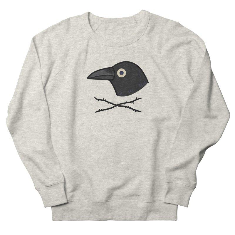 crow Men's Sweatshirt by Casandra Ng
