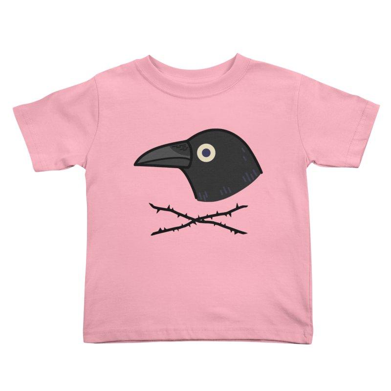 crow Kids Toddler T-Shirt by Casandra Ng