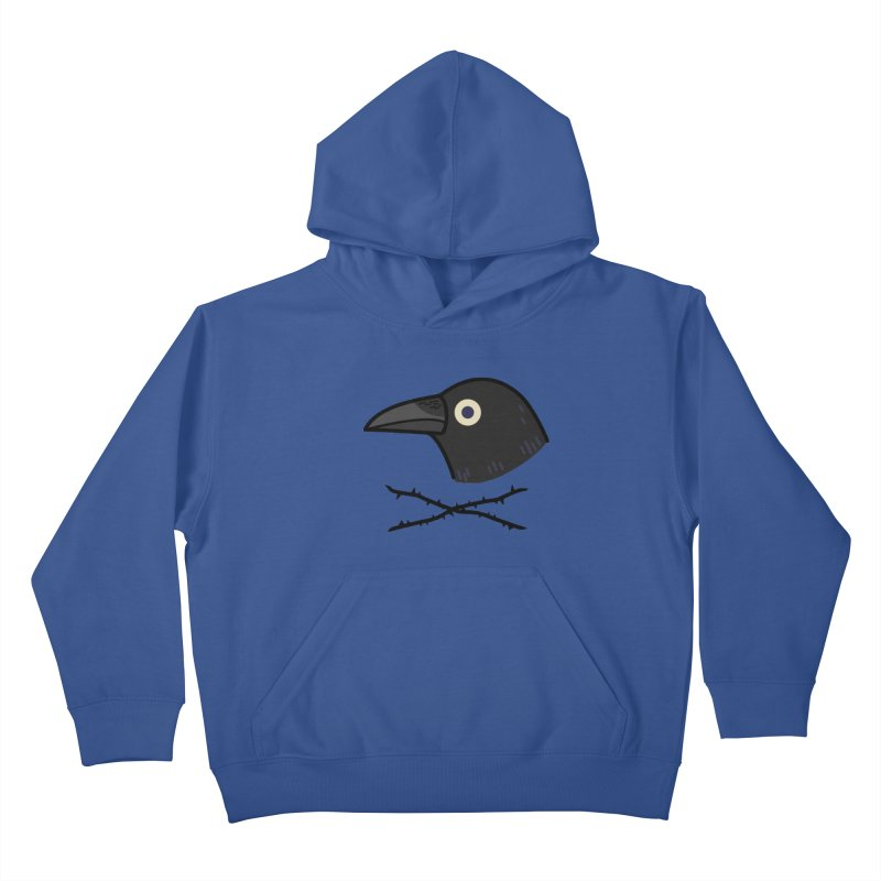 crow Kids Pullover Hoody by Casandra Ng