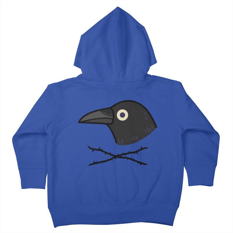 crow Kids Toddler Zip-Up Hoody by Casandra Ng