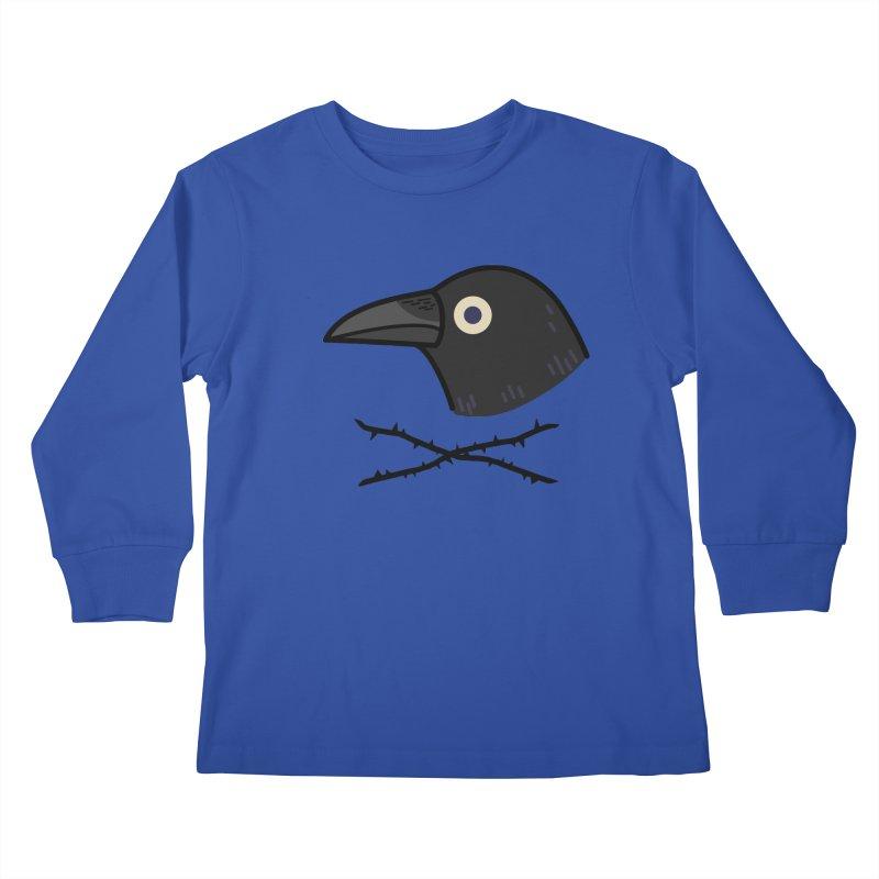 crow Kids Longsleeve T-Shirt by Casandra Ng