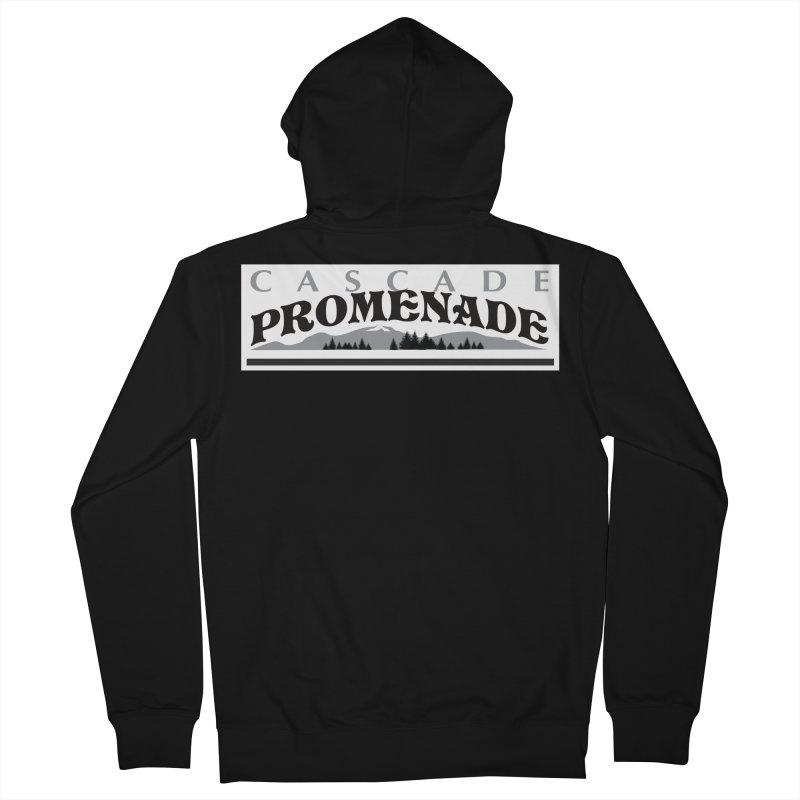 Cascade Promenade Men's Zip-Up Hoody by cascadepromenade's Artist Shop
