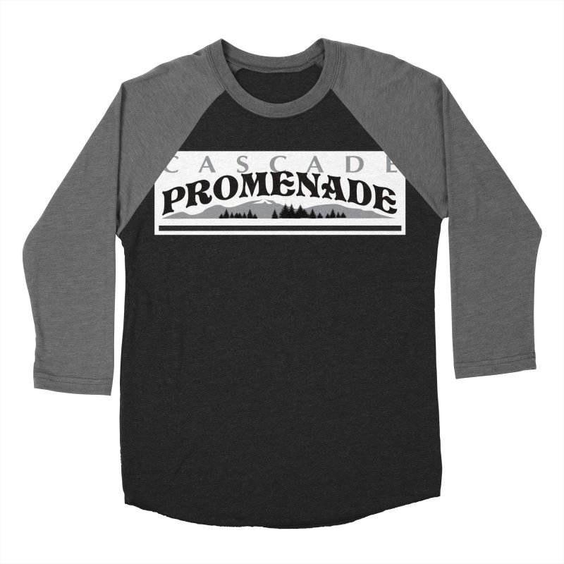 Cascade Promenade Men's Baseball Triblend T-Shirt by cascadepromenade's Artist Shop