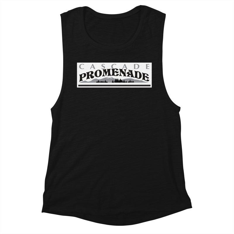 Cascade Promenade Women's Muscle Tank by cascadepromenade's Artist Shop