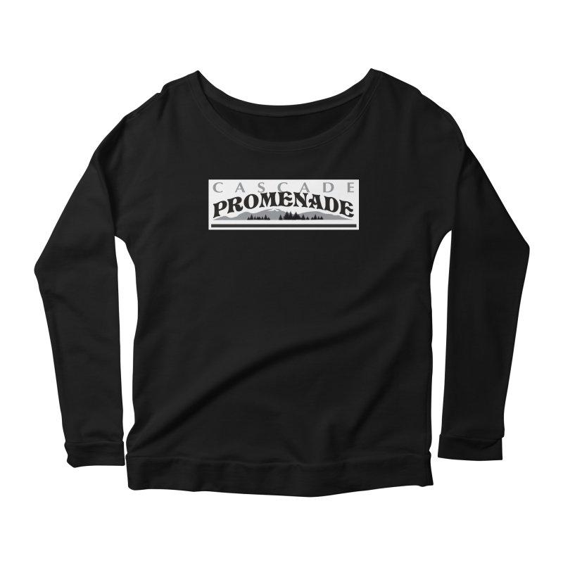Cascade Promenade Women's Scoop Neck Longsleeve T-Shirt by cascadepromenade's Artist Shop
