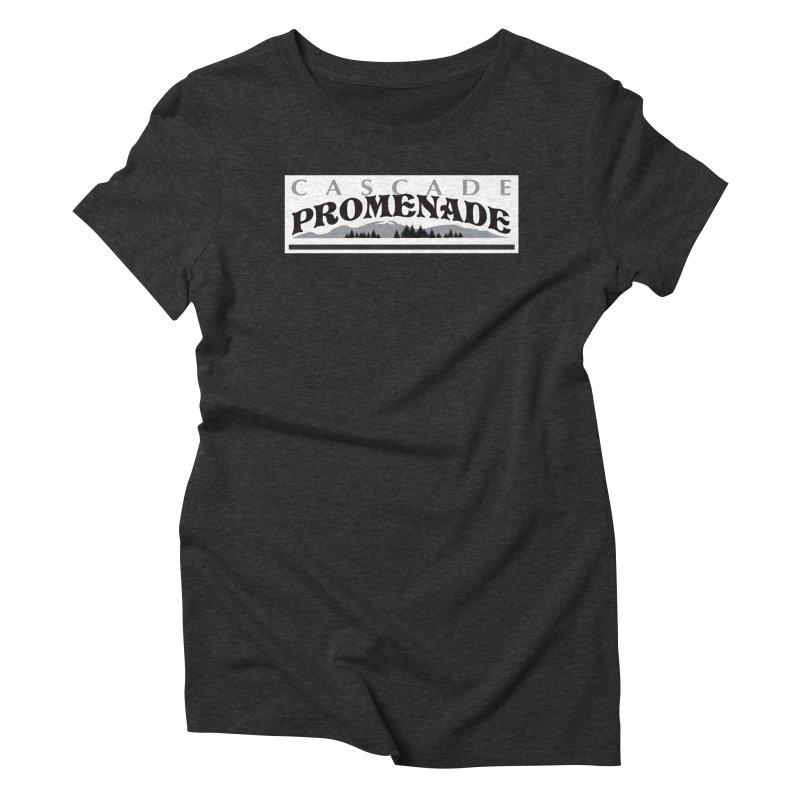 Cascade Promenade Women's Triblend T-Shirt by cascadepromenade's Artist Shop