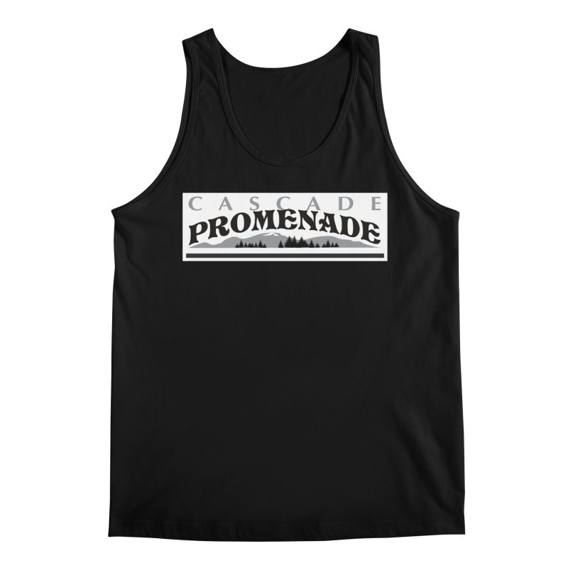 Cascade Promenade Men's Regular Tank by cascadepromenade's Artist Shop