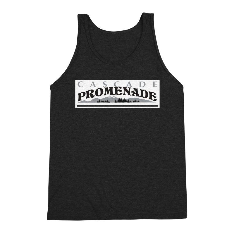 Cascade Promenade Men's Triblend Tank by cascadepromenade's Artist Shop