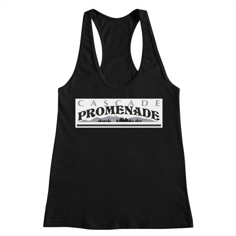 Cascade Promenade Women's Racerback Tank by cascadepromenade's Artist Shop