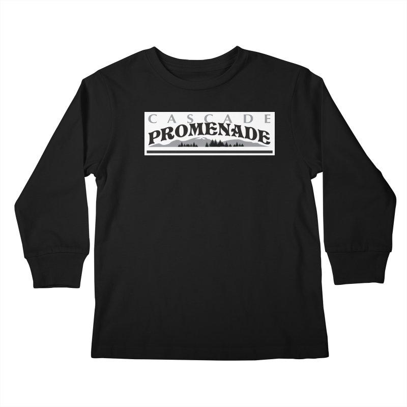 Cascade Promenade Kids Longsleeve T-Shirt by cascadepromenade's Artist Shop
