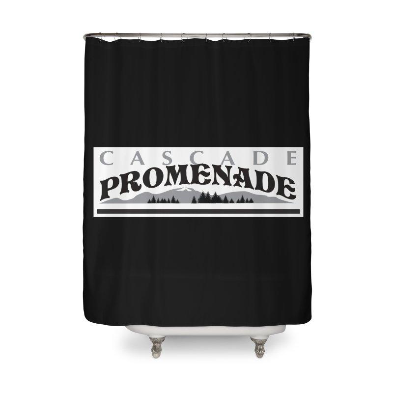 Cascade Promenade Home Shower Curtain by cascadepromenade's Artist Shop