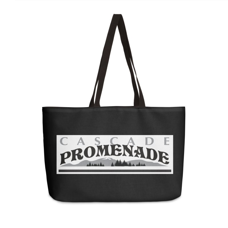 Cascade Promenade Accessories Weekender Bag Bag by cascadepromenade's Artist Shop