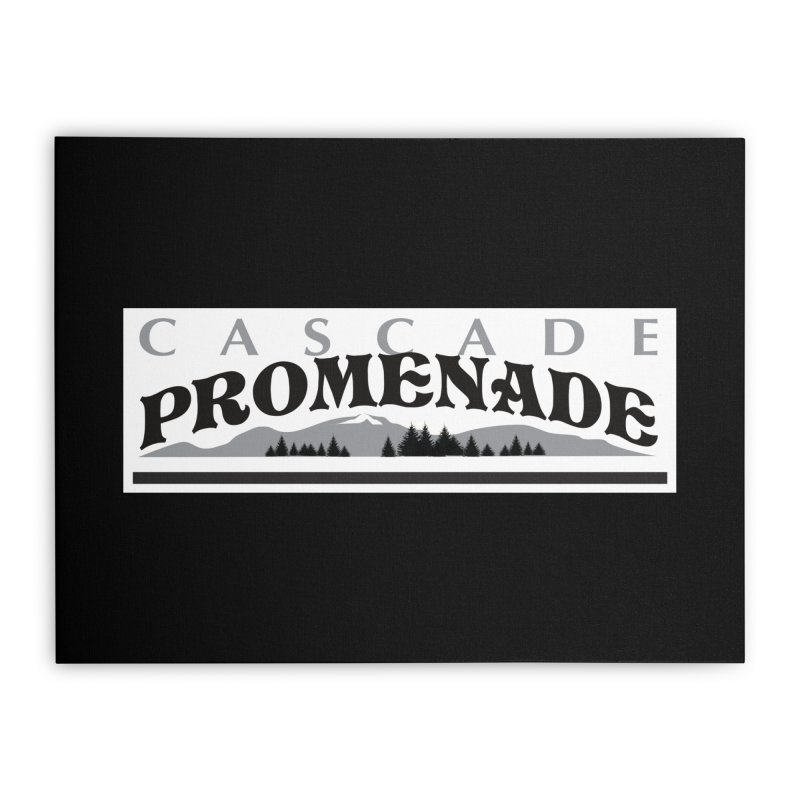 Cascade Promenade Home Stretched Canvas by cascadepromenade's Artist Shop