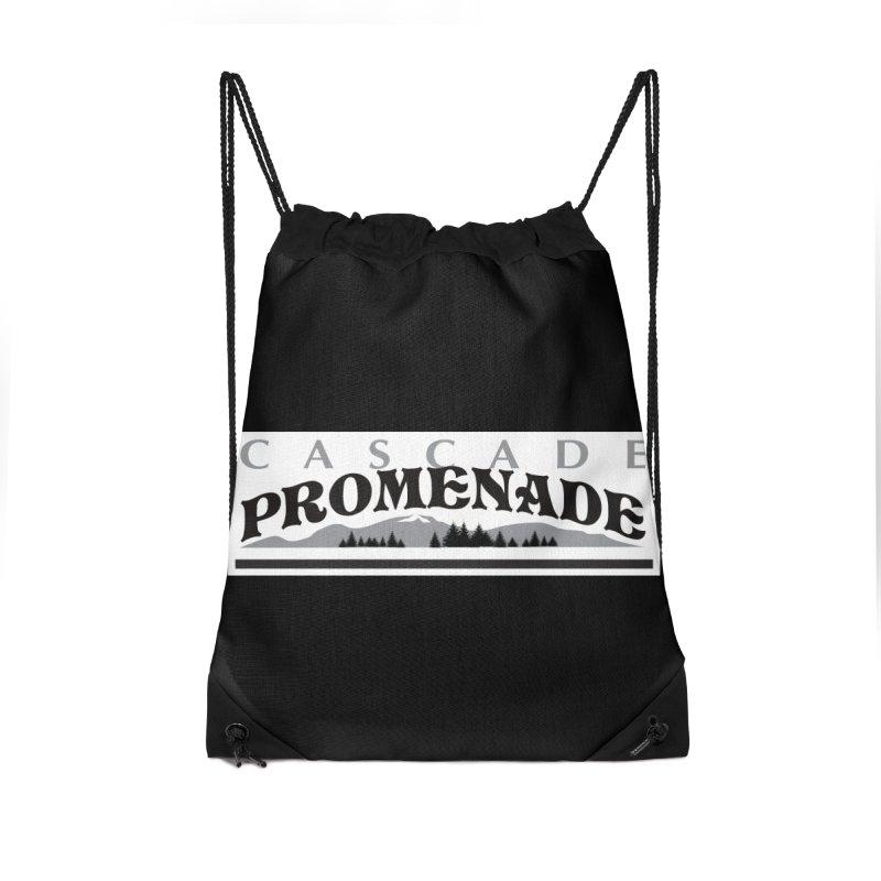 Cascade Promenade Accessories Drawstring Bag Bag by cascadepromenade's Artist Shop