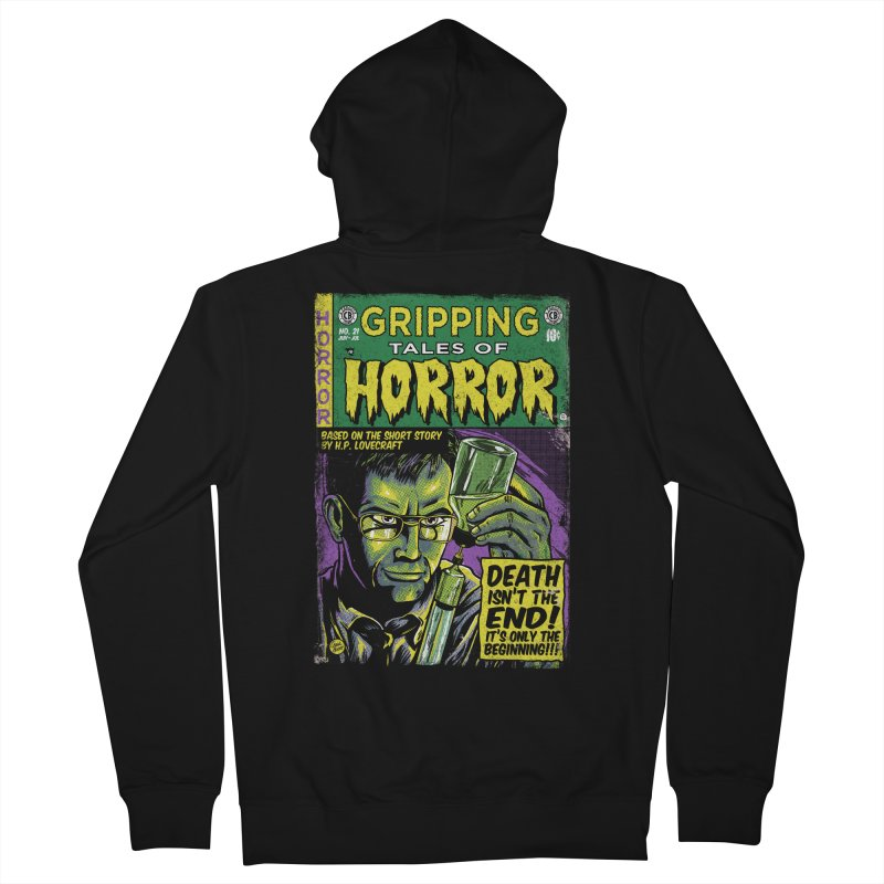 Reanimator Men's Zip-Up Hoody by caseybooth's Artist Shop