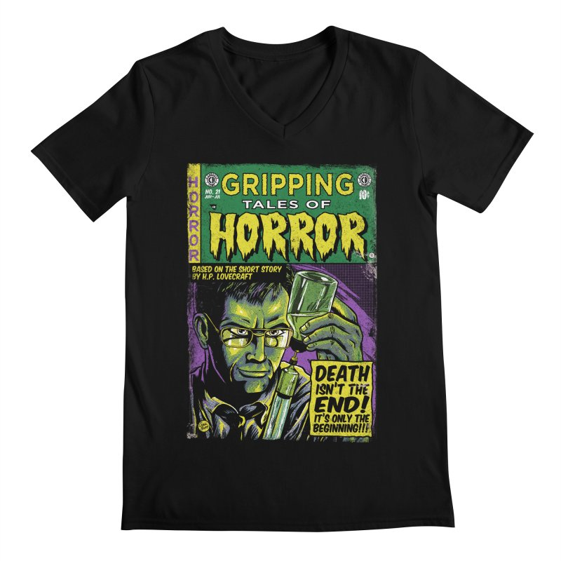 Reanimator Men's V-Neck by caseybooth's Artist Shop