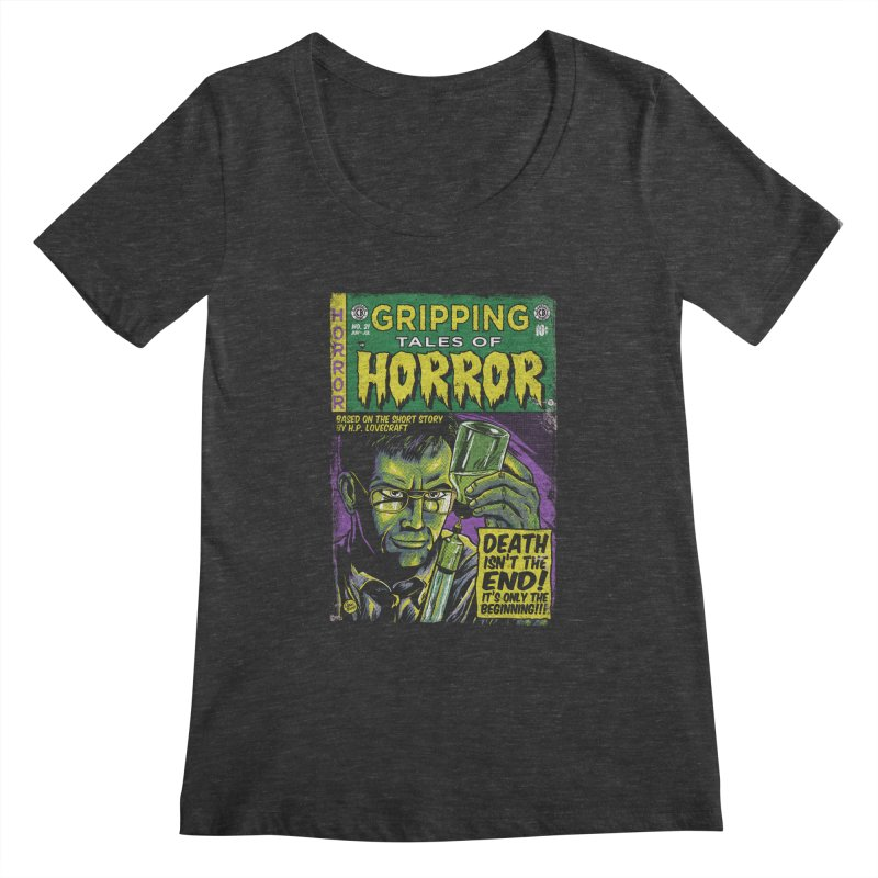 Reanimator Women's Scoopneck by caseybooth's Artist Shop