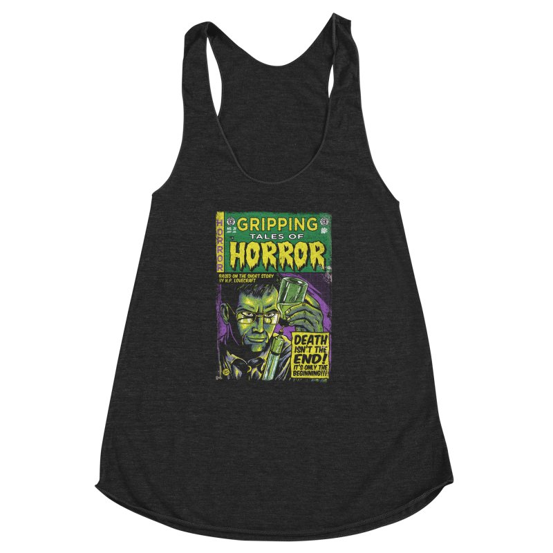 Reanimator Women's Racerback Triblend Tank by caseybooth's Artist Shop