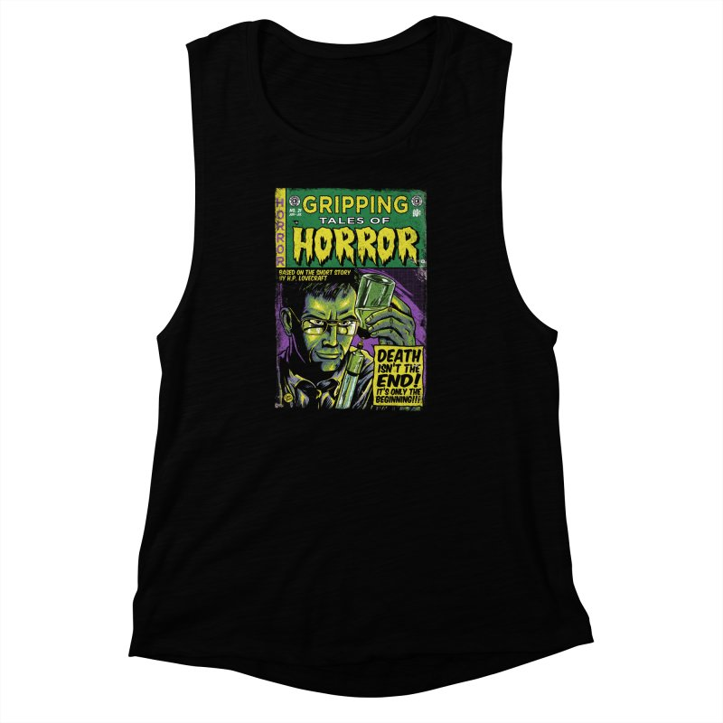 Reanimator Women's Muscle Tank by caseybooth's Artist Shop