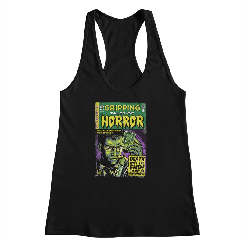 Reanimator Women's Racerback Tank by caseybooth's Artist Shop