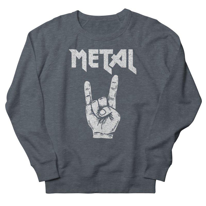 Metal Men's Sweatshirt by caseybooth's Artist Shop