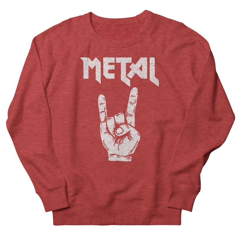 Metal Men's Sweatshirt by caseybooth's Artist Shop