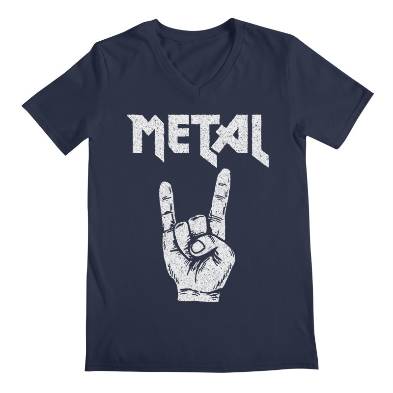 Metal Men's V-Neck by caseybooth's Artist Shop