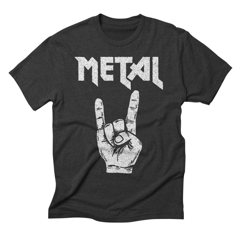 Metal Men's Triblend T-shirt by caseybooth's Artist Shop