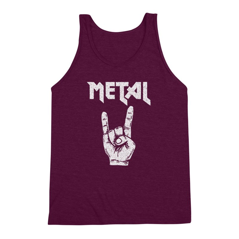 Metal Men's Triblend Tank by caseybooth's Artist Shop