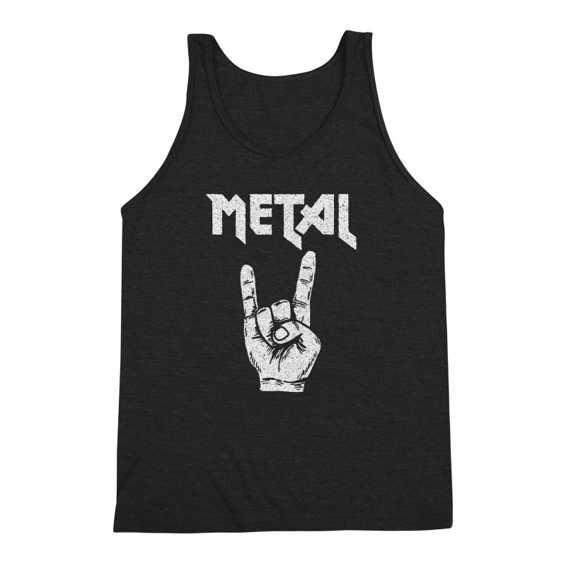Metal Men's Triblend Tank by caseybooth's Artist Shop