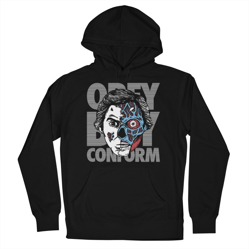 Obey. Buy. Confrom. Men's Pullover Hoody by caseybooth's Artist Shop