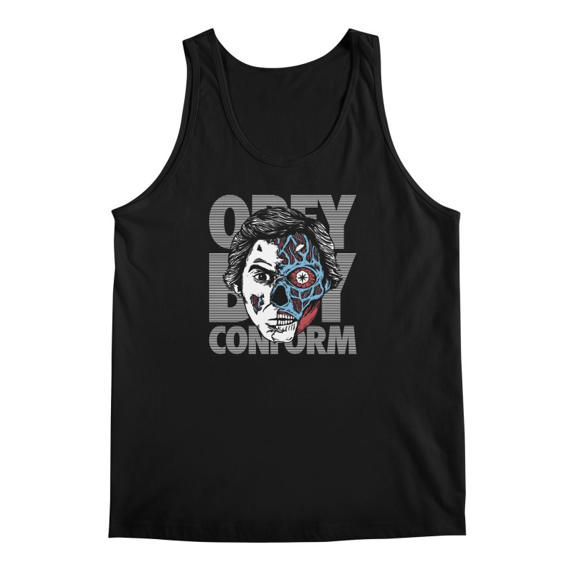 Obey. Buy. Confrom. Men's Tank by caseybooth's Artist Shop